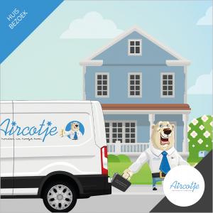 Adviserend huisbezoek voor split unit of multi split airco