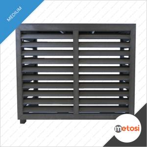 Metosi © Airco cover compuesto Medium Charcoal