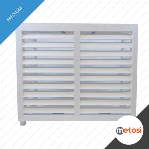 Metosi © Airco cover compuesto Medium White