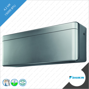 Daikin stylish binnen unit FTXA-42BS zilver