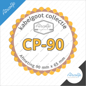 Reductor verbindingsstuk van serie CP-90 naar serie CP-70