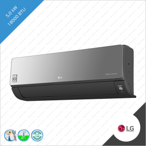 LG Artcool AC18BQ  A18RL-NSC  A18RL-UUE 5,0 kW binnen unit Black mirror