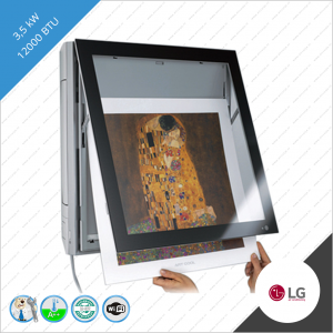 LG Artcool Gallery ARNU12GSF12 3,5 kW binnen unit