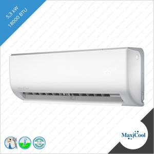 Maxicool Luna AE 3D inverter 5,3 kW wit LMD-AER-18HDI LMD-AE-18HDI-I LMD-AE-18HDI-O binnen unit