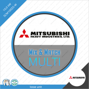 Mitsubishi Heavy Industries buiten unit SCM100ZS-W