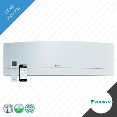 Daikin Emura FTXJ-25 MW wit binnen unit