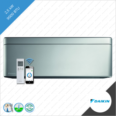 Daikin stylish binnen unit FTXA-25BS zilver