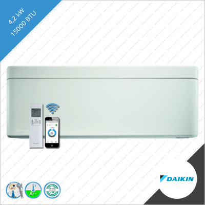 Daikin stylish binnen unit FTXA-42AW wit