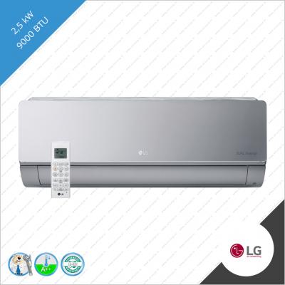 LG Artcool AC09SQ  A09RK-NSB  S09AK-UL2  2,5 kW binnen unit Silver