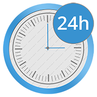 24 uurs timer