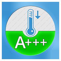A+++ Energielabel voor het koelend vermogen SEER