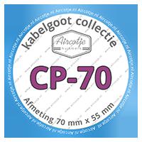 Compatibel met kabelgoot serie CP-70