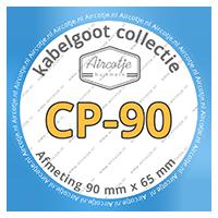 Compatibel met kabelgoot serie CP-90