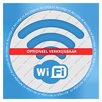 WiFi optioneel verkrijgbaar
