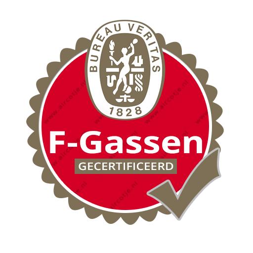F-Gassen gecertificeerd